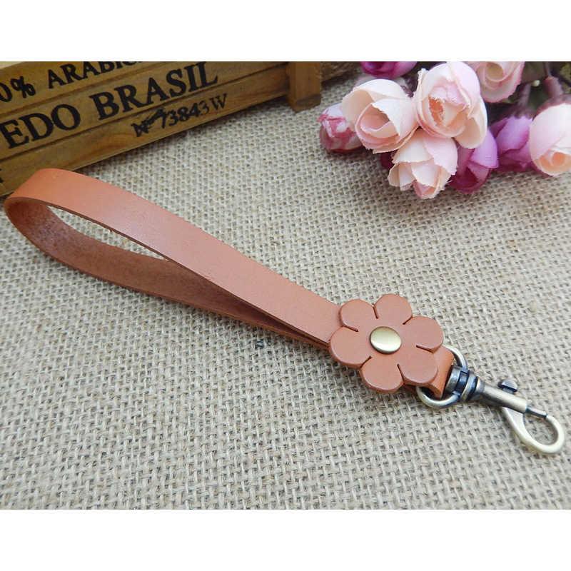 4beda4fe11 ... Clutch Bag Wrist Strap Vegetable Tanned Leather Bag Belt Purse Wristlet  Handle for DIY Handbag Replacement