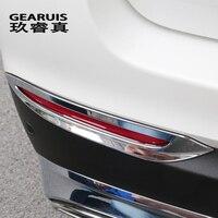 Car Styling Rear Fog Lamps Cover Grille Slats Fog Lights Cover Decoration Trim Strips For Mercedes