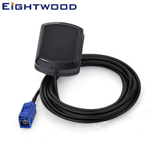 "Eightwood  Car GPS Active Antenna for Car GPS Receivers/Systems with  Fakra ""C"" Connector Customizable for  Audi BNW"