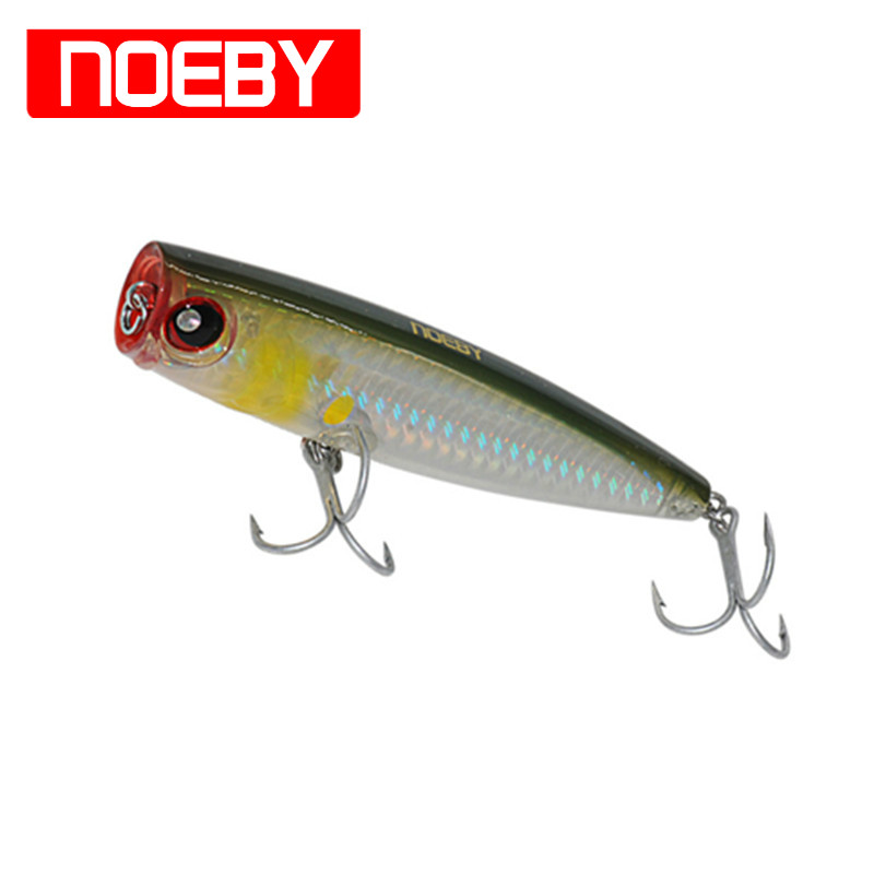 NOEBY Popper 105mm/24g Top Water Lure Isca Pesca BKK Hook Leurre Dur Peche Souple Hard Bait Artificial рубашка blend blend bl203emppw00