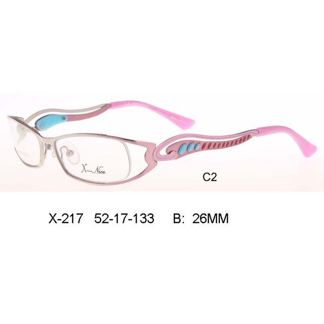 Новый 2017 мода Óculos де грау femininos очки кадров Градиент цвета оптический бренд дизайн очки кадр женщин eopard УФ