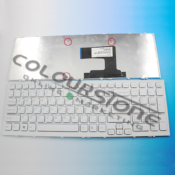 Brand new Laptop keyboards for sony VPC-EL RUSSIAN RU LANGUAGE KEYBOARDS with frame black color