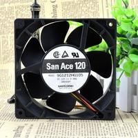 For SANYO San Ace 120 12cm 9G1212HG105 12v 0 98A 4 Wire For IBM Fan Cooling