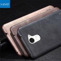 X Level Original Slim Phone Case For Huawei Y7 Prime Luxury Vintage PU Leather 3D Soft