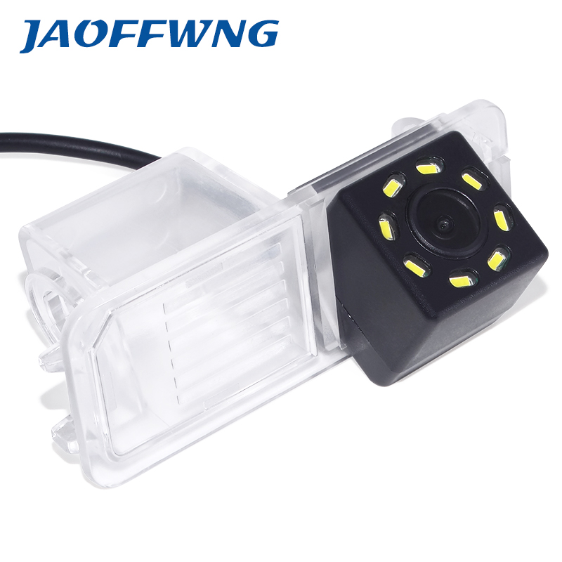 CCD Car CCD 8LED Night Vision Reverse Backup Parking Waterproof Rear View Camera For VW Polo V (6R) Golf 6 VI Passat CC Magotan