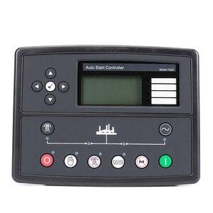 Image 2 - Controlador de generador led, piezas de genset, placa de control de alternador, panel de pantalla lcd, mando a distancia de arranque automático