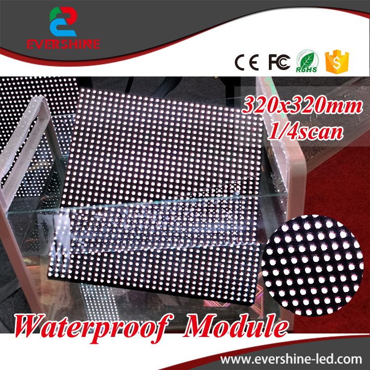 P10 led full color video panel 320x320mm front maintenance module p10 outdoor 1/4scan high waterproof led 1r1g1b board free shipping p5 indoor smd 3in1 full color led panel display module 1 16scan 320 320mm