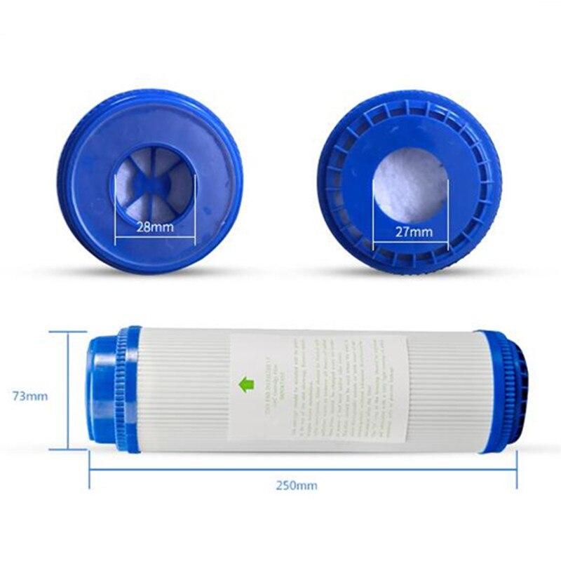 UDF 10 inch Granular Activated Carbon Filter Cartridge Remove Odor & Adjust Water Taste Water Purifier Pre-Filter Standard