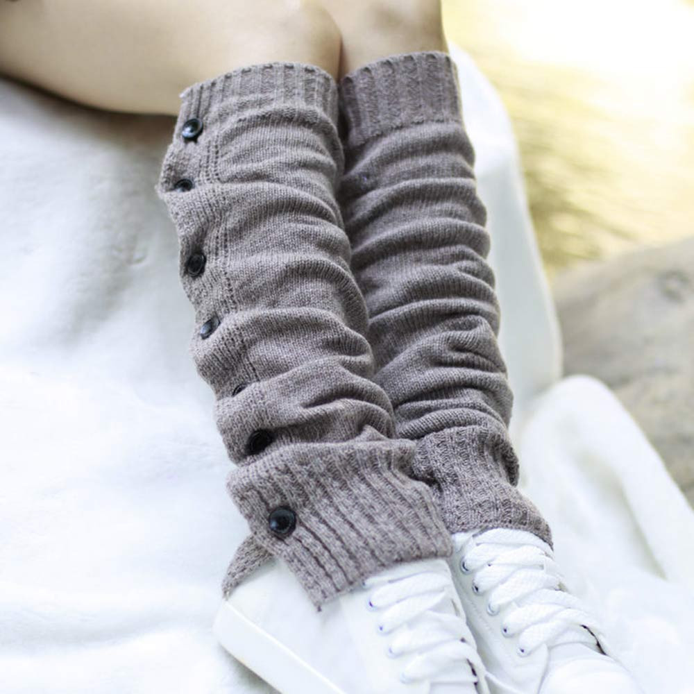 2017 New Adult Leg Warmers Women Fahsion Stretch Boot Leg Cuffs Boot Dropshipping L615