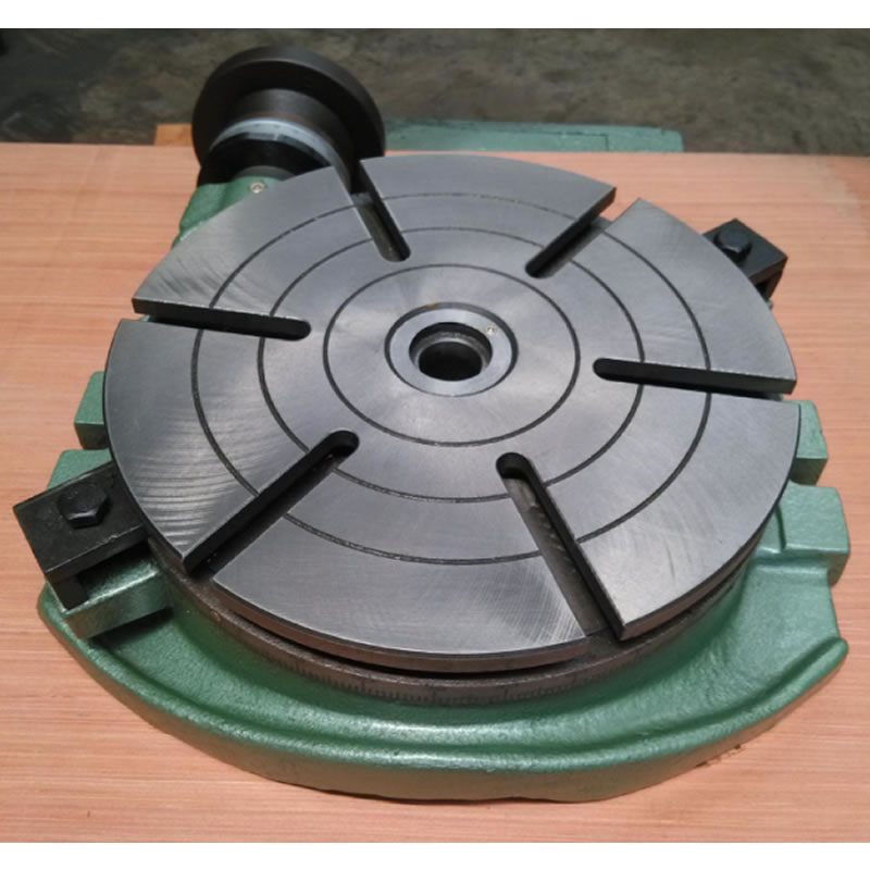 Milling table rotary table, rotary indexing plate TS200A (plate surface 200mm) horizontal fixed scale table-in Tool Parts from Tools    2