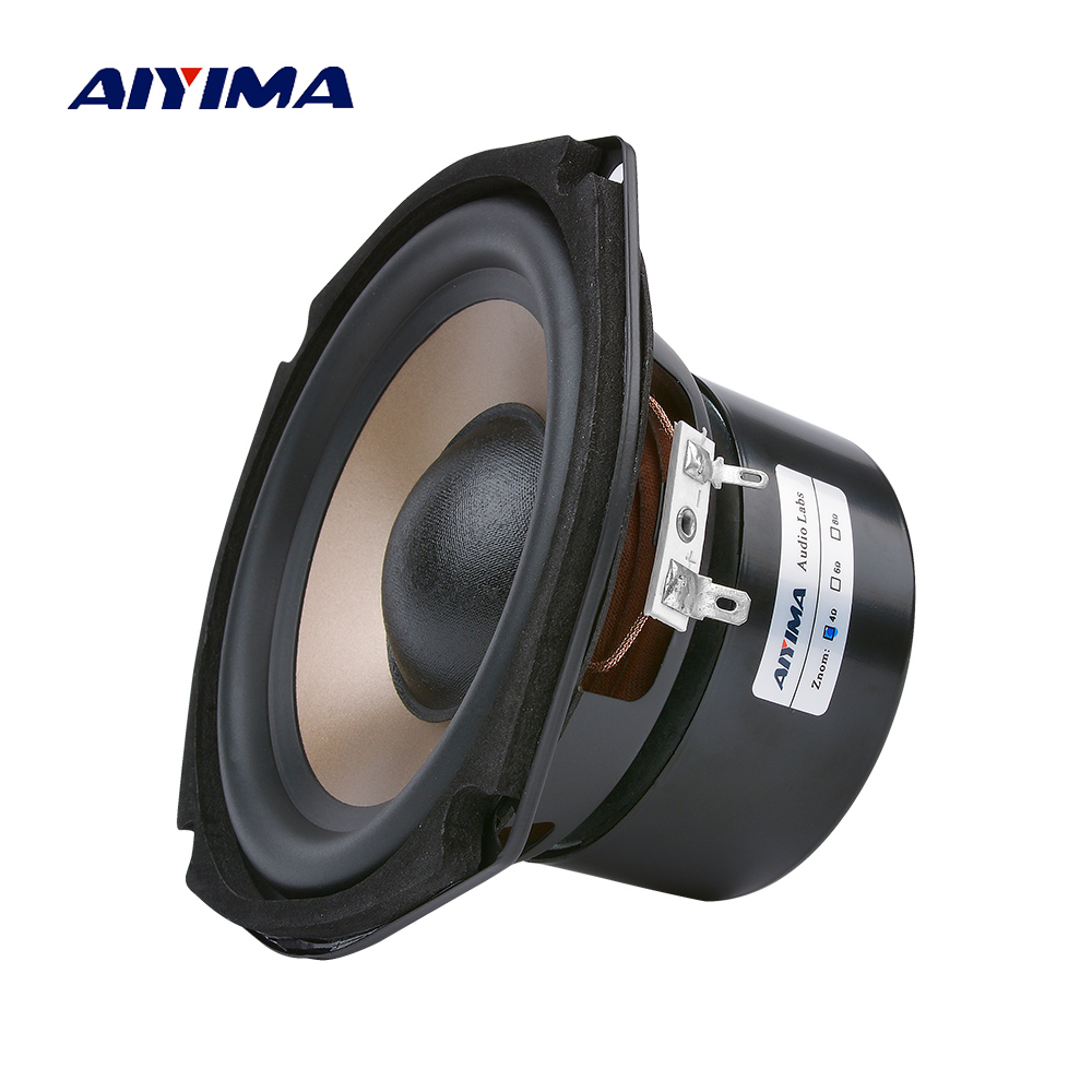 AIYIMA 1Pcs 5 25 Inch Subwoofer 4 8 Ohm 100W Audio Woofer Speaker HIFI Bass Loudspeaker