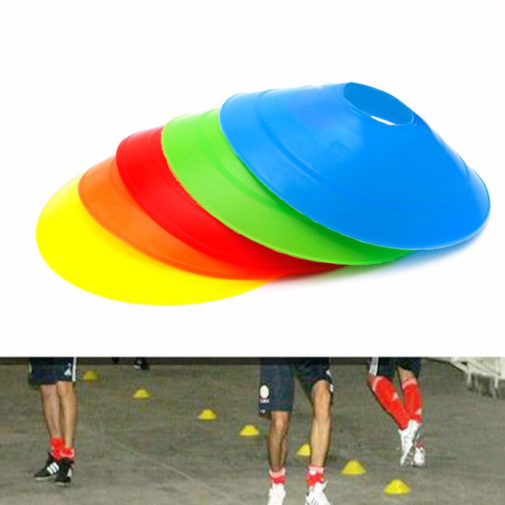 Football Accessories Sign Plate Cone Soccer Sports Marker Discs Landmark Guidepost Training Marked Free Shipping 10pcs/lot