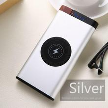 Fashion Portable Dual Input USB Output Fast Charge Wireless Home, Office, Outdoor 2-4mm Power powerbank Bank