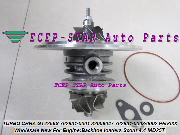 Turbo Cartridge CHRA GT2556S 762931 762931-5001S 762931-0001 Turbocharger For Perkin Backhoe loaders JBC Agricultural Scout 4.4L (2)