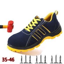 Wilderness Survival Safety Shoes Steel Toe mid-plate Anti-slip Anti-smashing Work Men work boots #WL689
