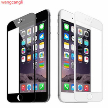 3Dfor iphone6 tempered glass film Apple 6s full-screen coverage surface 3D soft edge new