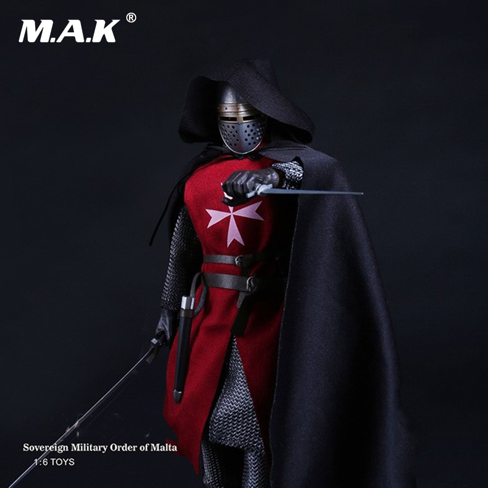 1/6 Sovereign Military Knights of Malta Ancient Medieval Soldier Action Figure Model Collections knights of sidonia volume 6
