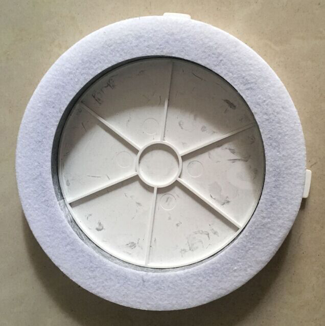 (For Robot Vacuum Cleaner QQ6KDM) Air Purifier HEPA Filter For QQ6KDM