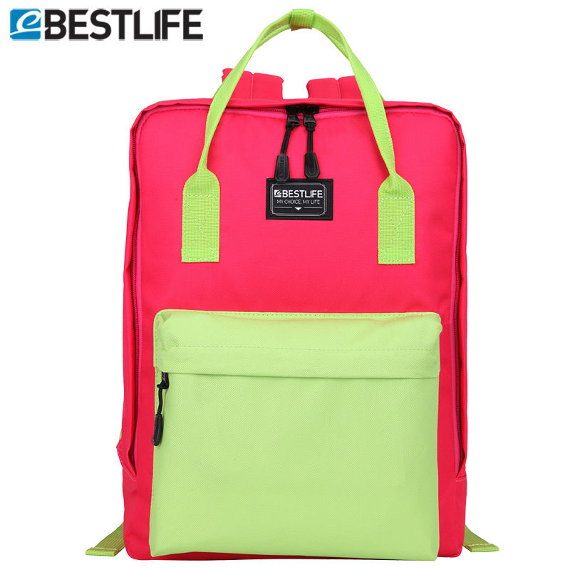 BESTLIFE Cherry Red Spring laptop Backpacks Teenager Cute High School Girl Carry On Day Pack Sleeves Laptop mochilas mujer 2017 secret key chubby jelly tint pack cherry red цвет cherry red variant hex name df140d