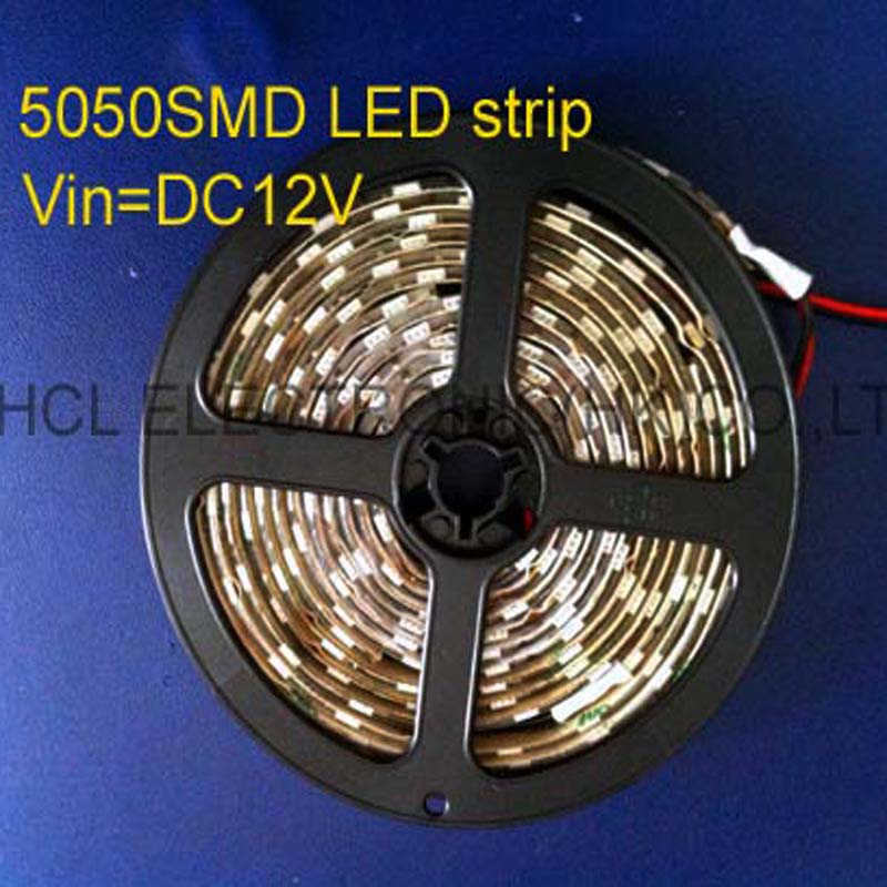 High Quality 5050 Dc12v Led Flex Strip 60pcs/m,led Soft Strip Ip68 Waterproof 12v Led Decorative Strip Free Shipping 20m/lot Lights & Lighting