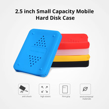 "2.5inch HDD Bags Cases Silicone Case Hard Drive Disk Cover Protector Skin Ultra Soft 2.5"" HDD Case for Sony for WD for Seagate(China)"
