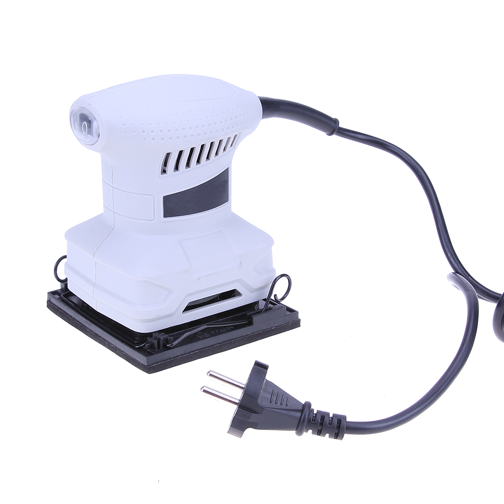 110mm 200W Electric Sander Woodworking for Polishing Grinding Wood Wall 1pc white or green polishing paste wax polishing compounds for high lustre finishing on steels hard metals durale quality