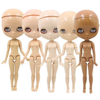 factory blyth doll toy joint body bald head doll without eyechips, the scalp is loose, scalp without glue 30cm - DISCOUNT ITEM  15% OFF Toys & Hobbies