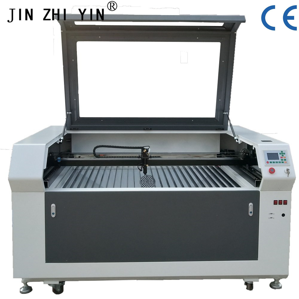 TS1390 CO2 Laser Engraving And Cutting Machine 80w Laser Engraving Machine  With Ruida 6442s Controller