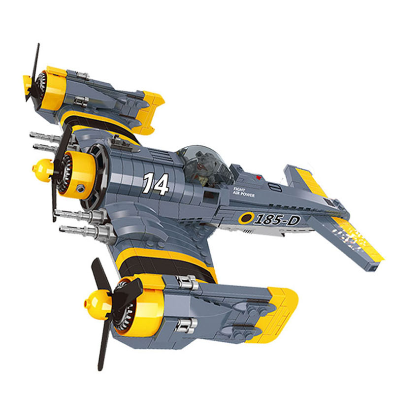 New Lepin 22021 Technical Series The Beautiful Science Fiction Fighting Aircraft Set Building Blocks Bricks Toys Model boy Gift the great science fiction