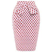 Women Skirts Autumn Summer Fashion High Waist Bodycon Pencil Skirt Faldas Vintage Saia Midi Plus Size Jupe Femme Skirts Womens
