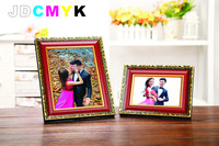 5 6 7 8 10 Inch Carved Photo Frame Metal Picture Frame High Quality Wooden Photo