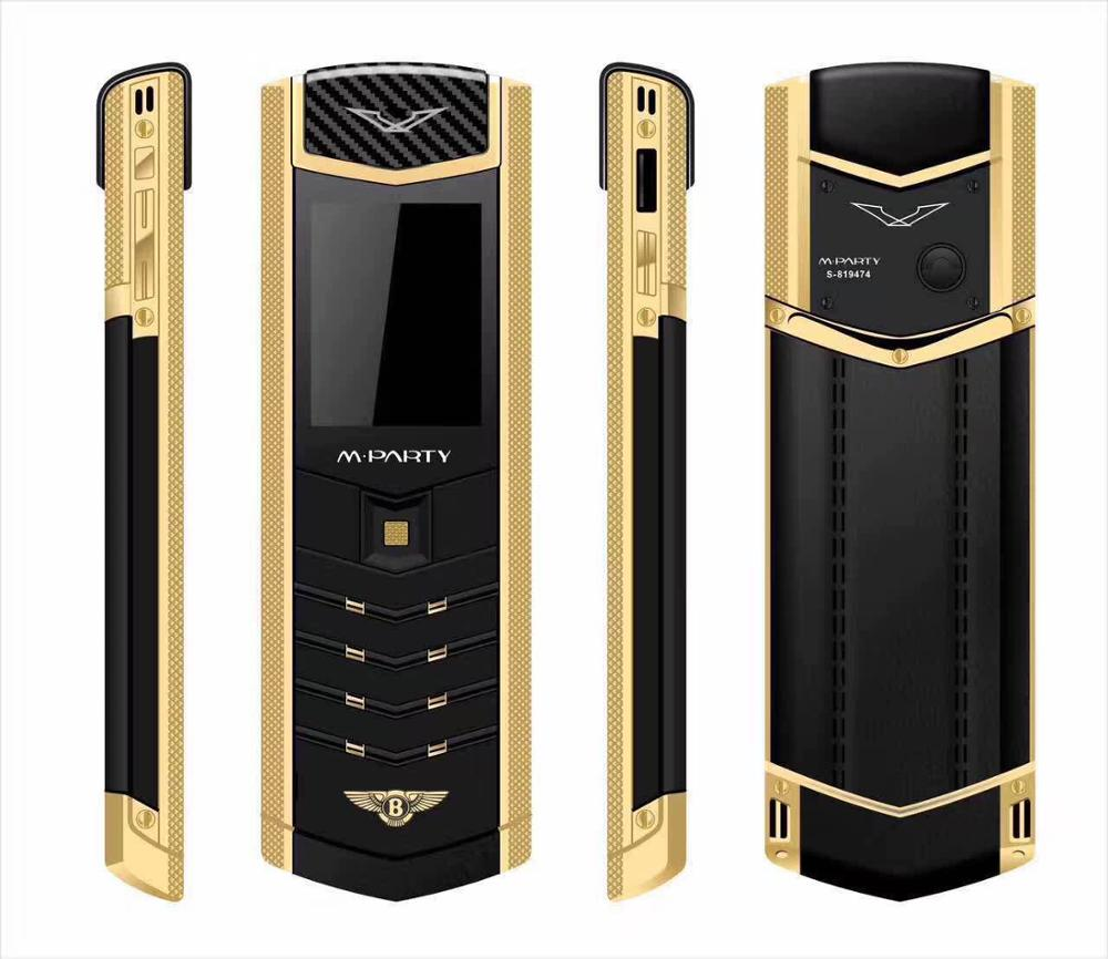 Luxury House With Phone With: MPARTY LT2 Luxury Metal Leather Housing Mobile Phone