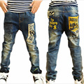 2016 Moda Niños Jeans Para Niños de Alta Calidad, Ajuste Delgado Coreano Pantalones Vaqueros de Los Niños, Los Bebés de los Pantalones, niños Boy Jeans Envío Gratis