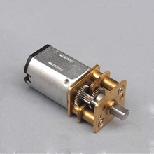 DC5V-9V N20 Miniature Geared Motor DC Motor Pure Steel Metal Gear Reduction 670 RPM-1200 RPM