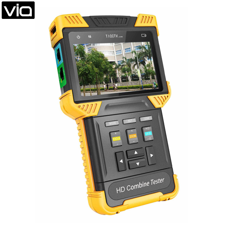 DT T61 Free Shipping 4.0 Inch HD Combine Tester IP Camera IPC CCTV Tester Support ONVIF,RTSP,RTP/485