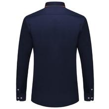 VISADA JAUNA European Size Men's Shirt 2017 New 100% Cotton Slim Business Casual Brand Clothing Long Sleeve Chemise Homme N356