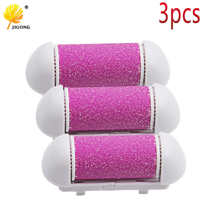3pcs lot Feet Care Tool Skin Care Foot Dead Skin Removal replacement roller Exfoliator Heel file Cuticles callus Remover head jinding electric callus remover grinding pedicure roller foot care exfoliator heel cuticles for woman feet dead dry skin removal