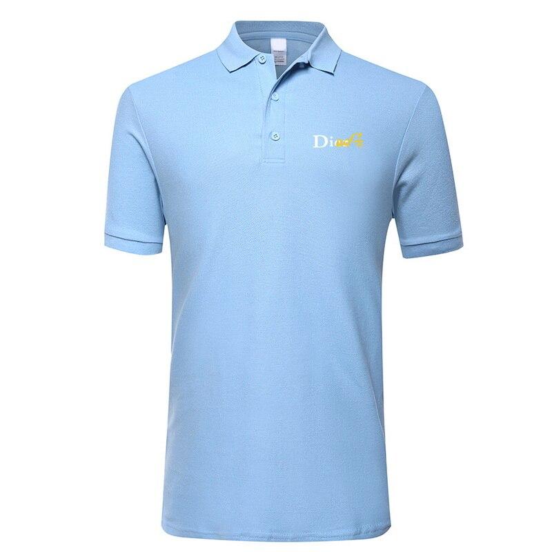 High Quality Tops&Tees Men's Polo shirts Business men brands Polo Shirts 3D print Turn-down collar mens polo shirt