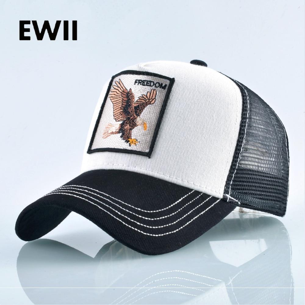 2018 Women full   baseball     cap   men trucker hat summer snapback hip hop hats for men breathable mesh   caps   women gorro feminino