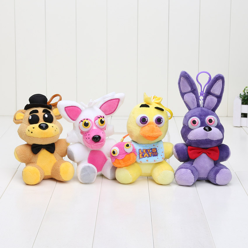 Foxy keychain plush toys 14cm from reliable movies amp tv suppliers on