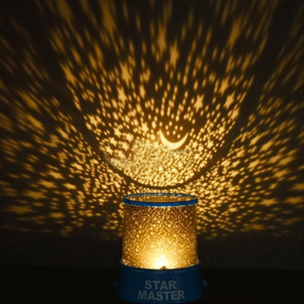 Star map projector lamp - 1pcs Wonderful Amazing Children S Led Starry Night Sky Projector Lamp Colorful Star Light Cosmos Master Gift