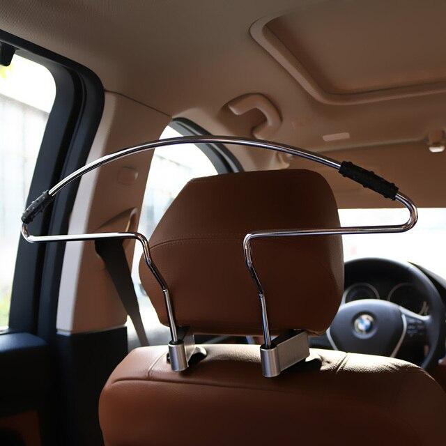 42x25cm Stainless Steel + Anti Slip Rubber Seat Headrest Pillar Coat ...