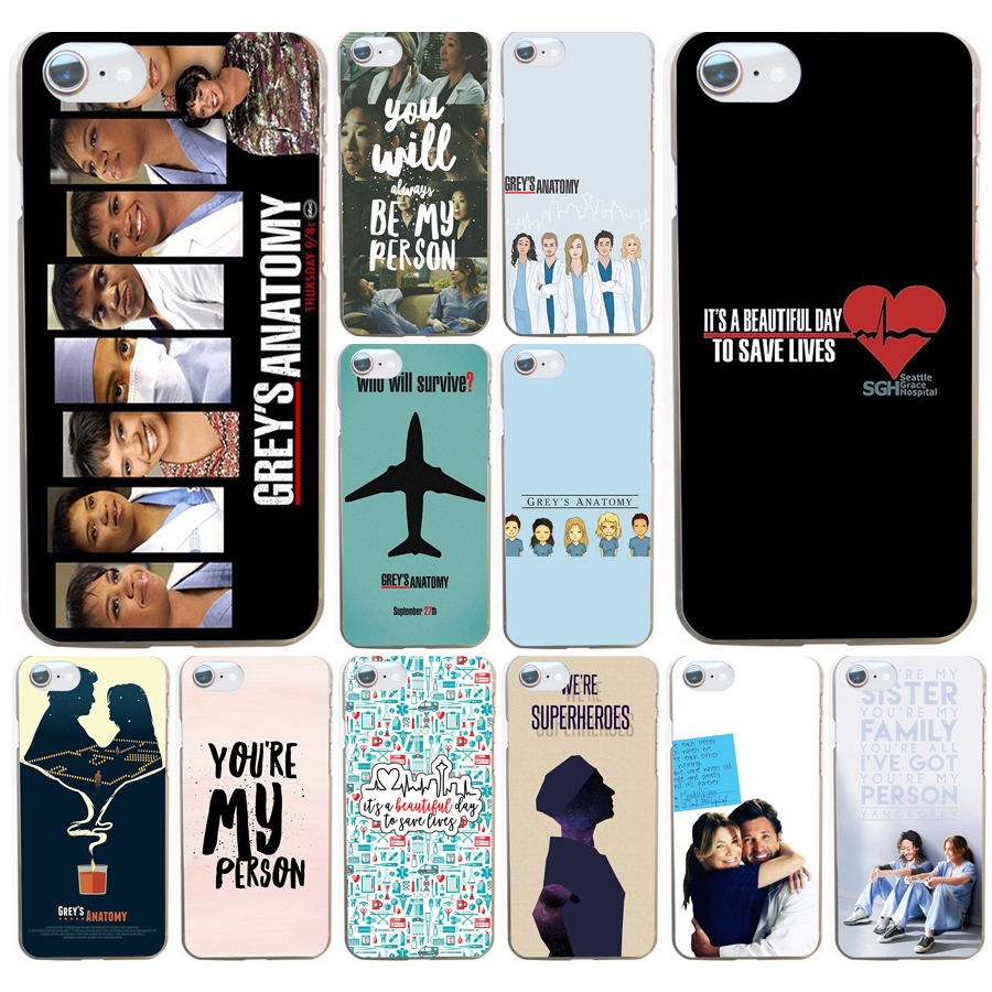 Cellphones & Telecommunications Fitted Cases Lvhecn Hot Sale Greys Anatomy Phone Case Cover For Iphone 5s Se 6 6s 7 8 Plus 10 X Samsung Galaxy S6 S7 Edge S8 S9 Plus 100% Original