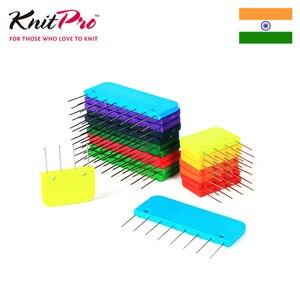 Image 3 - 1 opakowanie Knitpro Rainbow Knit blokery dziewiarskie przyrządy do szycia i akcesoria