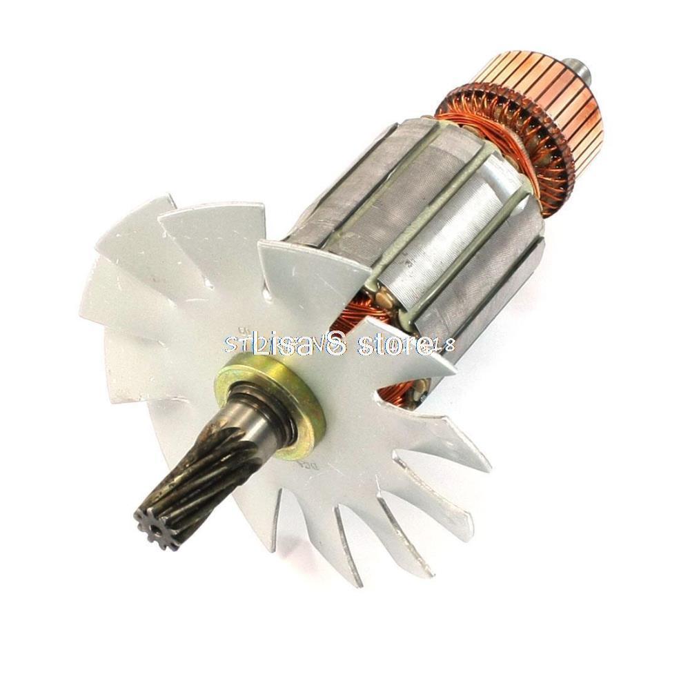 Scie circulaire De Remplacement 10 Dents Rotor de Moteur AC 220 V pour Makita 5103N 5201N