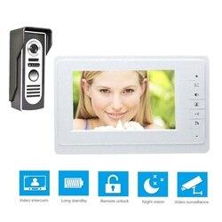 Fimei TFT 7'' HD Wired Door Bell With Camera Video Intercom Doorbell Indoor Door Visual Phone System Outdoor Security Monitor
