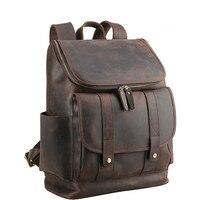 Для мужчин пояса из натуральной кожи большой 17 ноутбук дизайнер сумки для путешествий Crazy Horse кожа брендовая Дизайнерская обувь повседневн