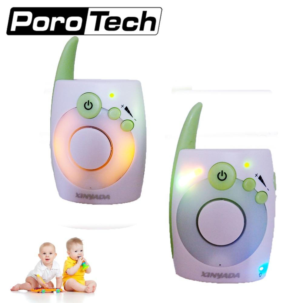 D1020 enfant bébé talkie-walkie bébé moniteur Audio bébé interphone bébé alarme Radio nounou infirmière électronique BabySitter