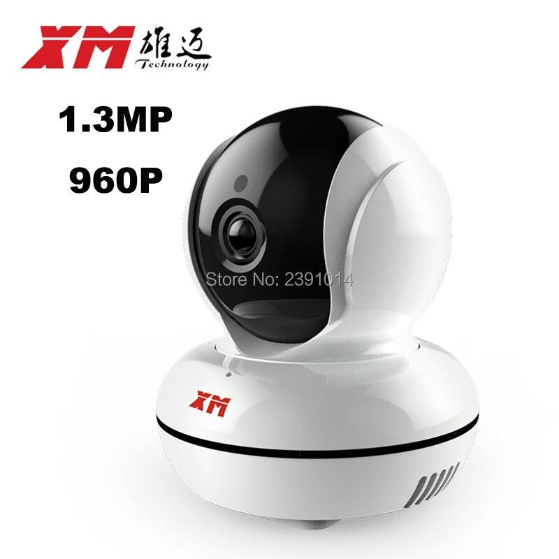 Sans fil IP Réseau de Surveillance Caméra Mini Wifi de Sécurité Vidéo Surveillance Visualisation Angle140 Ronde Deux-way Audio Téléphone Intelligent