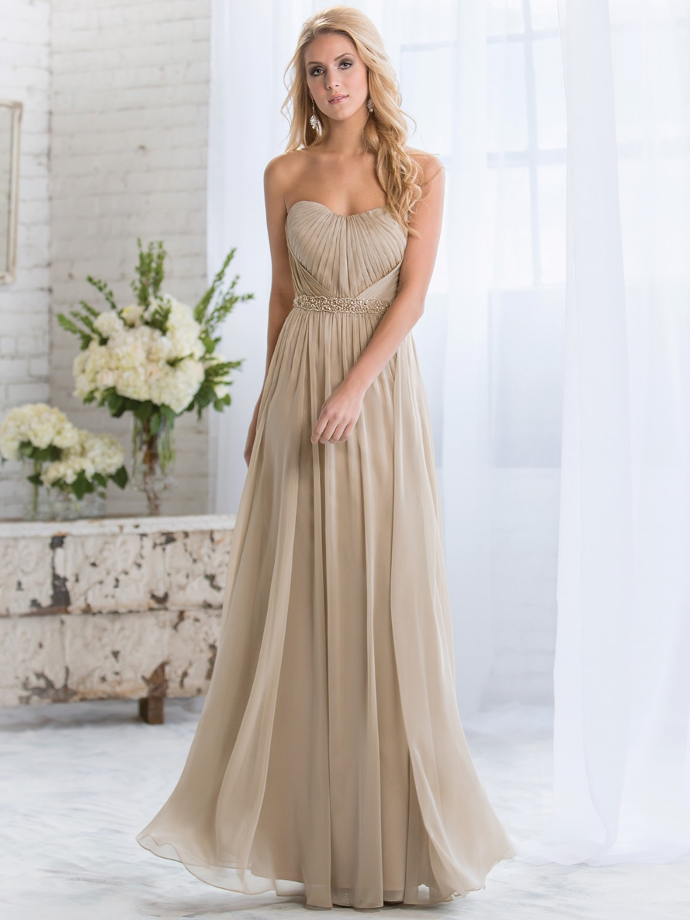 Online get cheap gray dresses for damas aliexpress alibaba summer long gray chiffon bridesmaid dresses with beaded sash sweetheart a line formal party gown vestido dama de honor xhb09 ombrellifo Image collections